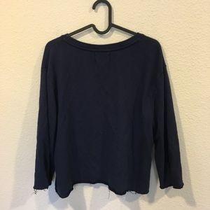 Nation LTD Tops - Nation Ltd Sami Knit long sleeve sweatshirt